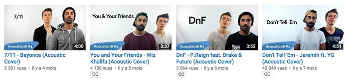 Vidéos Youtube TwoHoursLeft